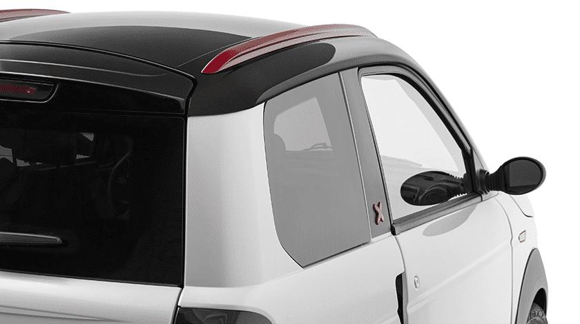 Pack rouge Microcar MGO - voiture sans permis