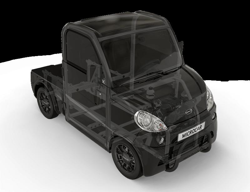 Microcar - Microcar M.Cross - voiture sans permis