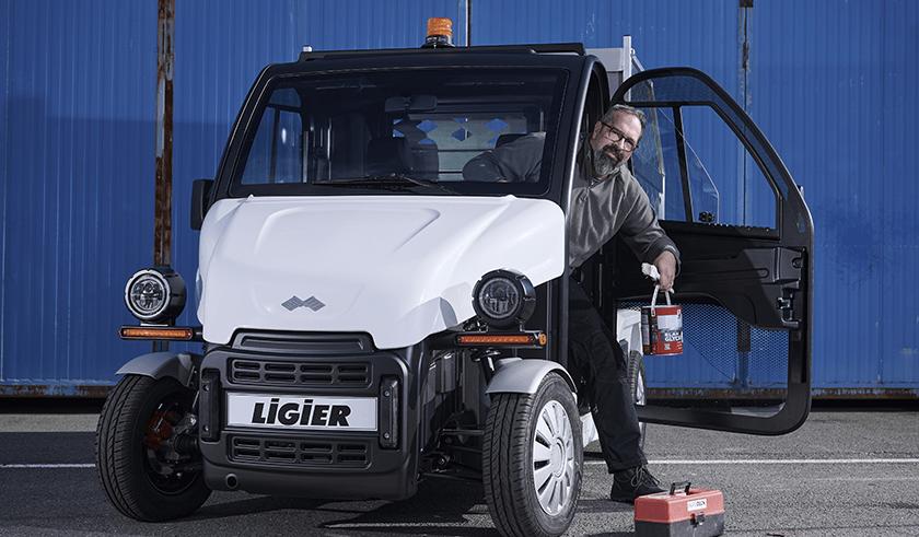 Camion électrique Ligier Professional